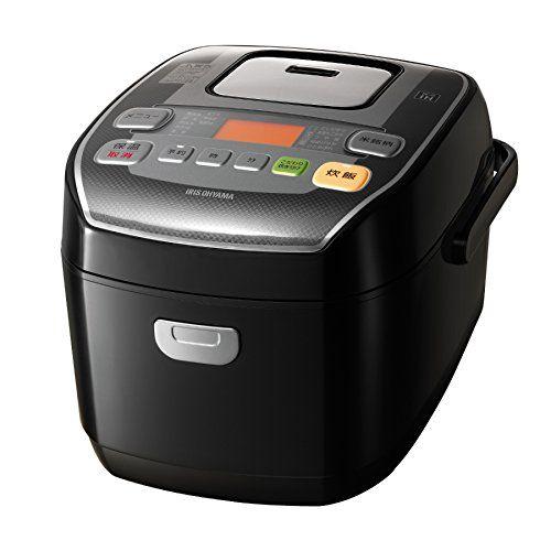 アイリスオーヤマ 炊飯器 圧力IH式 3合 銘柄炊き分け機能付き 大火力 ブラック RC-PA30-B