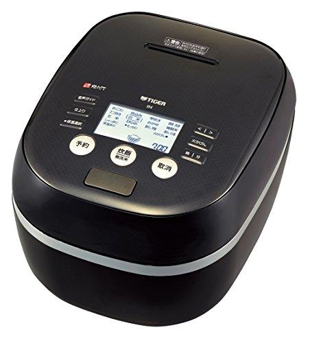 タイガー 炊飯器 5.5合 土鍋圧力IH ブラック 炊きたて 炊飯 ジャー JPH-A100-K Tiger