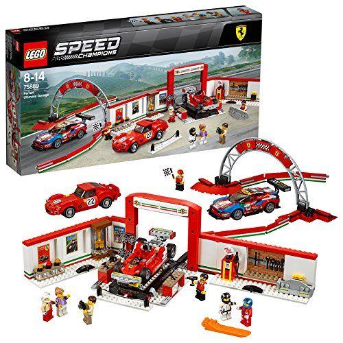 【最大1200円オフ限定クーポン配布中1月11日(金)09:59迄】レゴ(LEGO) スピードチャンピオン フェラーリ・アルティメット・ガレージ 75889