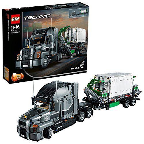 【最大1200円オフ限定クーポン配布中1月11日(金)09:59迄】レゴ(LEGO) テクニック MACK アンセム 42078