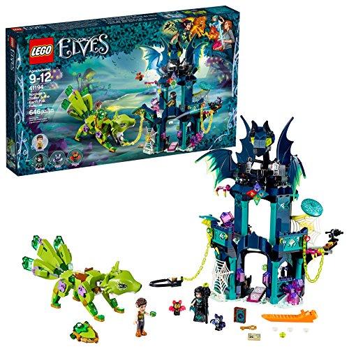 レゴ 6212148 エルフ ノクチュラの塔とアースフォックスの救出 41194 組み立てキット