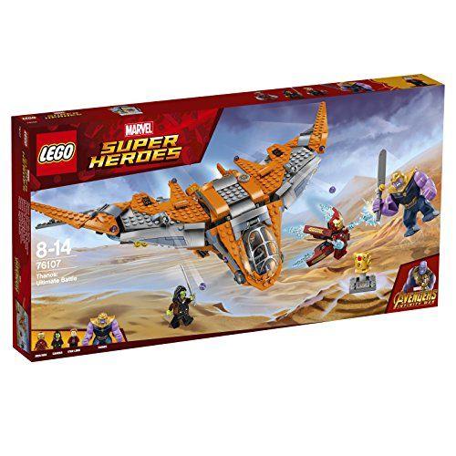 【最大1200円オフ限定クーポン配布中1月11日(金)09:59迄】レゴ(LEGO) スーパー・ヒーローズ サノス アルティメット・バトル 76107