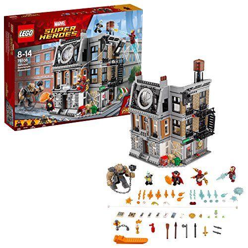 レゴ(LEGO) スーパー・ヒーローズ ドクター・ストレンジの神聖な館での戦い 76108