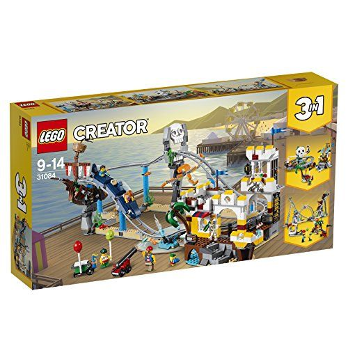 【最大1200円オフ限定クーポン配布中1月11日(金)09:59迄】レゴ(LEGO)クリエイター ローラーコースター 31084