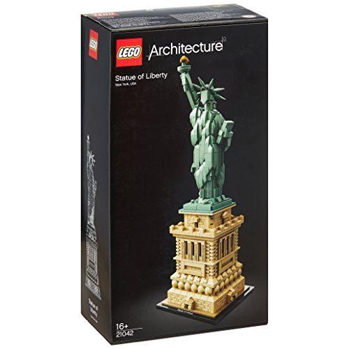 【最大1200円オフ限定クーポン配布中1月11日(金)09:59迄】レゴ(LEGO)アーキテクチャー 自由の女神 21042