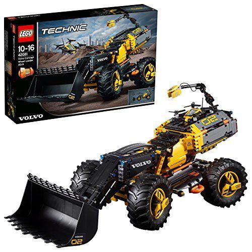 【最大1200円オフ限定クーポン配布中1月11日(金)09:59迄】レゴ(LEGO)テクニック ボルボ コンセプトホイールローダー ZEUX 42081