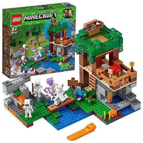 レゴ(LEGO)マインクラフト スケルトン・アタック 21146