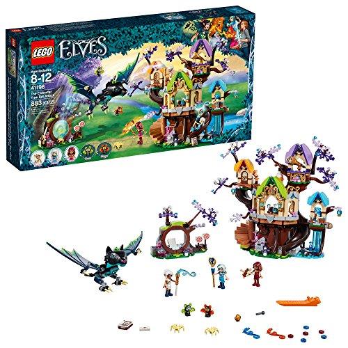 LEGO Elves the Elven Star Tree Bat Attack 41196 Building Kit (883 Piece)%カンマ% Multicolor