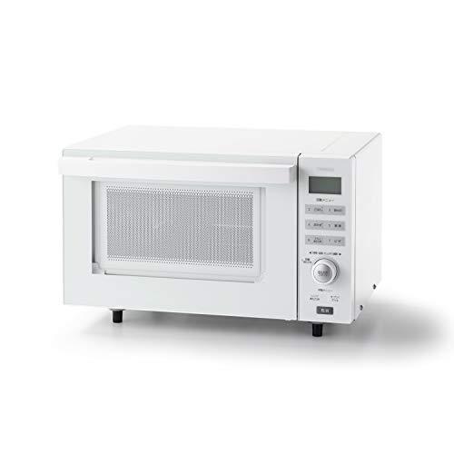 ツインバード センサー付フラットオーブンレンジ 18L ホワイトTWINBIRD DR-E852W