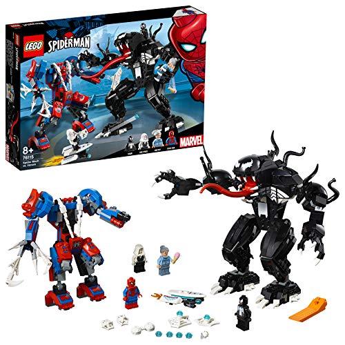 レゴ(LEGO) スーパー・ヒーローズ スパイダーマン vs.ヴェノム 76115