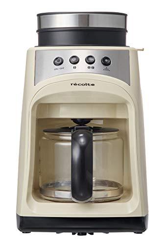 【ママ割】ポイント5倍対象ショップ限定 4/22 20:00スタート(エントリー必要)レコルト グラインドアンドドリップコーヒーメーカー フィーカ [ ホワイト / RGD-1 ] recolte Grind & Drip Coffee Maker FIKA