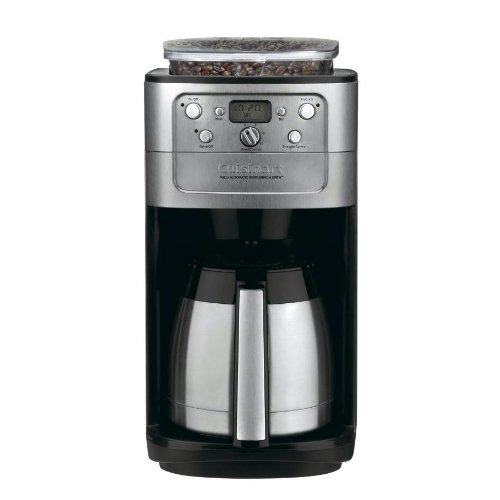 Cuisinart ドリッパー ブリュー コーヒーメーカー 12カップ クイジナート オートマティック グラインド DGB-900PCJ2