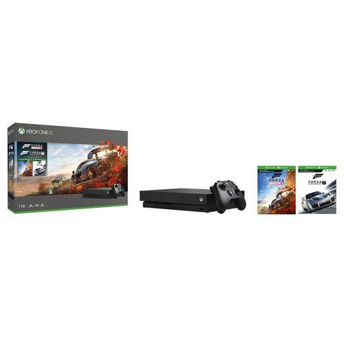 【4月1日限定 カードでエントリー最大ポイント20倍】Xbox One X Forza Horizon 4/Forza Motorsport 7 同梱版 (CYV-00062)