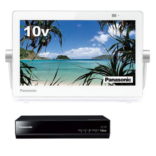 パナソニック 10V型 液晶 テレビ プライベート・ビエラ UN-10T8-W
