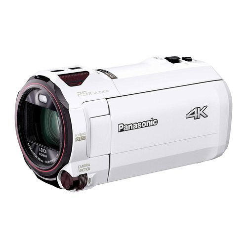 パナソニック 4K ビデオカメラ VZX990M 64GB あとから補正 ホワイト HC-VZX990M-W