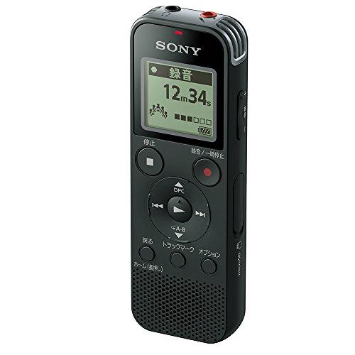 ソニー SONY ICレコーダー 4GB リニアPCM録音対応 ブラック ICD-PX470F B