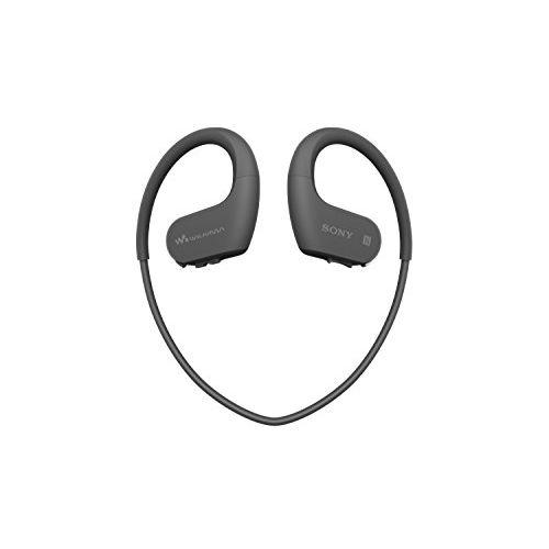 ソニー SONY ヘッドホン一体型ウォークマン Wシリーズ NW-WS623 : 4GB スポーツ用 Bluetooth対応 防水/海水/防塵/耐寒熱性能搭載 外音取込み機能搭載 ブラック NW-WS623 B