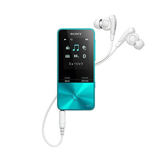 ソニー SONY ウォークマン Sシリーズ 4GB NW-S313 : Bluetooth対応 最大52時間連続再生 イヤホン付属 2017年モデル ブルー NW-S313 L
