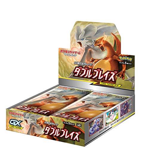 【キャッシュレス5%還元対象】ポケモンカードゲーム サン&ムーン 拡張パック「 ダブルブレイズ」 BOX