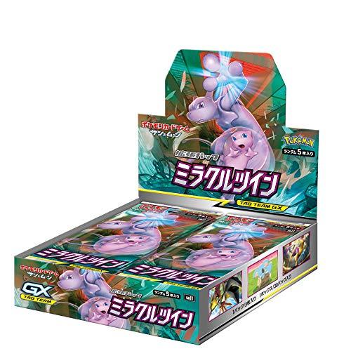 【キャッシュレス5%還元対象】ポケモンカードゲーム サン&ムーン 拡張パック「 ミラクルツイン」 BOX