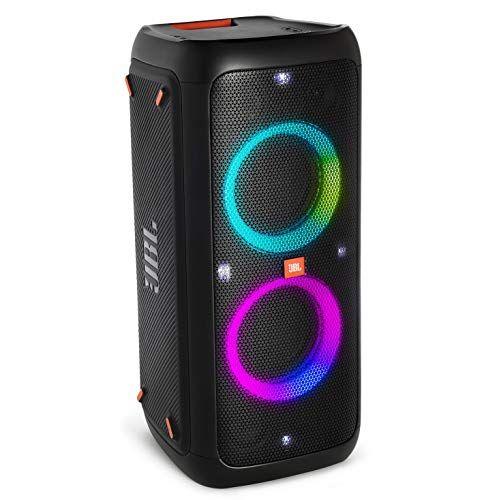 JBL PARTYBOX300 Bluetoothスピーカー ワイヤレス マイク入力/ギターアンプ入力搭載 ブラック JBLPARTYBOX300JN