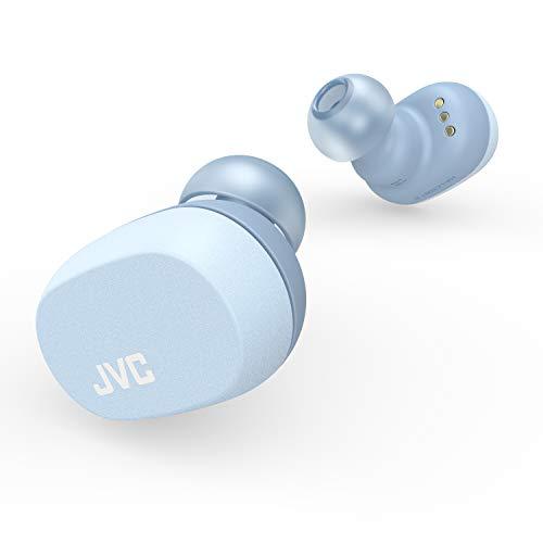 JVC HA-LC50BT N_Wシリーズ 完全ワイヤレスイヤホン Bluetooth対応/小型軽量ボディ/最大16.5時間再生 サックスブルー HA-LC50BT-A