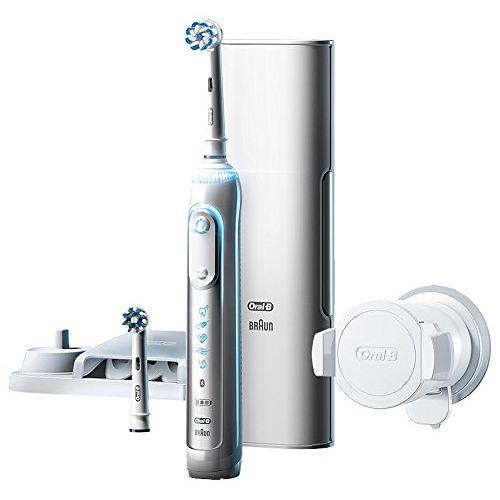 ブラウン オーラルB 電動歯ブラシ ジーニアス9000 ホワイト D7015256XCTWH D7015256XCTWH