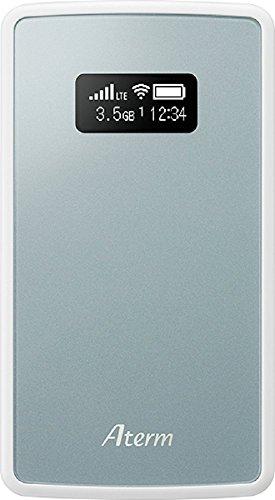 NECプラットフォームズ モバイルルーター Aterm ( 有機EL / 2GHz%カンマ% 800MHz / メタリックブルー ) PA-MP01LN-SW