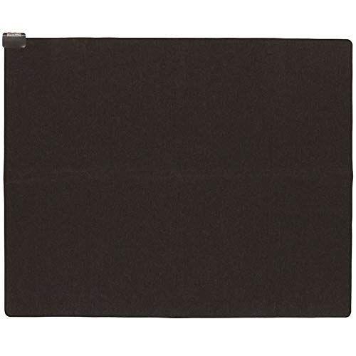 山善 省エネ ふわふわ ホットカーペット 3畳タイプ (室温センサー搭載) (6時間オートオフタイマー) (ダニ退治機能) (左右暖房面切替) (裏面すべり止め加工) (195cm×235cm) ブラック NUMF-E305