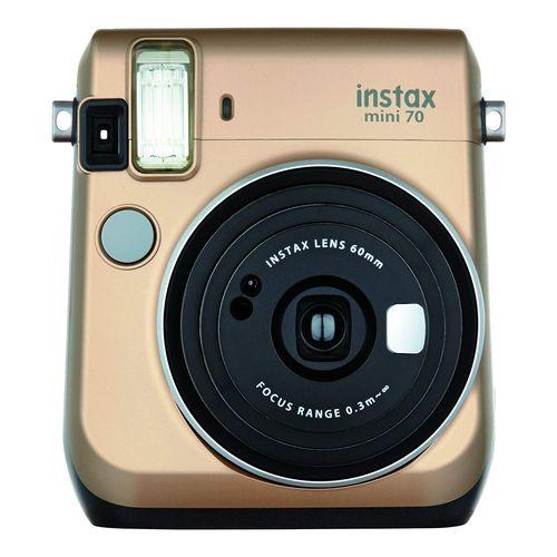 FUJIFILM インスタントカメラ チェキ instax mini 70 ゴールド INS MINI 70 GOLD[-]
