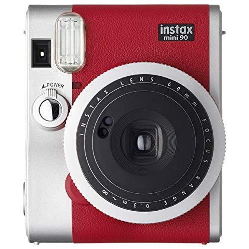 FUJIFILM インスタントカメラ チェキ instax mini 90 ネオクラシック レッド INSTAX MINI 90 RED[-]