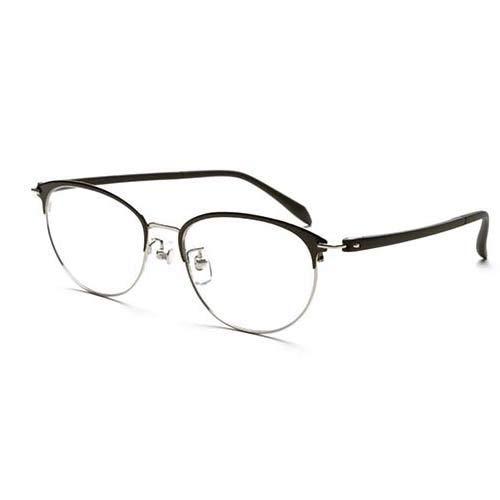ピントグラス 視力補正用メガネ ブラック PG-709-BK