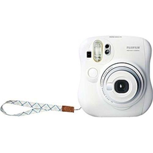 FUJIFILM インスタントカメラ チェキ instax mini 25 ホワイト INS MINI 25 WT N[-]