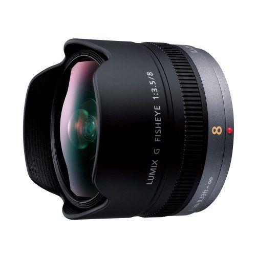 パナソニック 単焦点 魚眼レンズ マイクロフォーサーズ用 ルミックス G FISHEYE 8mm/F3.5 H-F008
