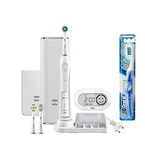 ブラウン オーラルB 電動歯ブラシ プラチナホワイト 7000 D365356WHP スマホアプリ連動 ホワイト