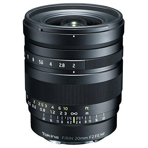 Tokina 単焦点レンズ FiRIN 20mm F2 FE MF ソニーαE用 マニュアルフォーカス