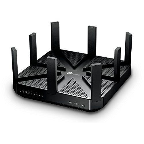 TP-Link WiFi 無線LAN ルーター Archer C5400 11ac ウイルス対策 セキュリティ AC5400 2167+2167+1000Mbps トライバンド ( 利用推奨環境 : 最大64台 / 4LDK / 3階建 ) 【Amazon Alexa 対応製品】