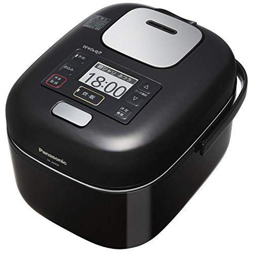 パナソニック 炊飯器 3合 圧力IH式 Wおどり炊き Jコンセプト シャインブラック SR-JW058-KK