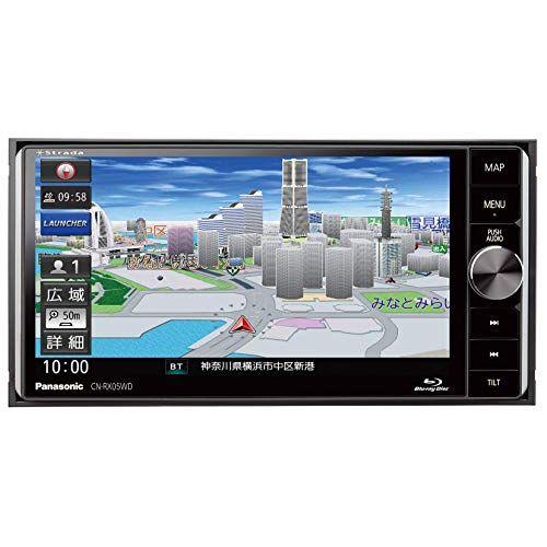 パナソニック カーナビ ストラーダ CN-RX05WD ブルーレイ搭載 無料地図更新 フルセグ/VICS WIDE/SD/CD/DVD/USB/Bluetooth 7V型ワイド CN-RX05WD