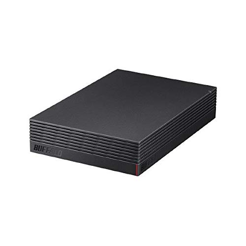 バッファロー パソコン&テレビ録画用外付けハードディスク 2.0TBUSB3.1(Gen1)/USB3.0用 外付けHDD(ファンレス・防振・音漏れ低減)BUFFALO HD-EDS-Aシリーズ HD-EDS2.0U3-BA