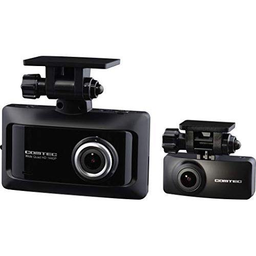 コムテック 前後2カメラ ドライブレコーダー ZDR026 前後370万画素 WQHDノイズ対策済 夜間画像補正 LED信号対応 専用microSD(16GB)付 1年保証 SONY製CMOSセンサー搭載 Gセンサー GPS 19年モデル COMTEC ZDR 026