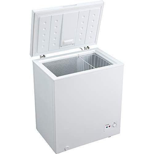 アイリスオーヤマ 冷凍庫 142L 上開き ノンフロン 温度調節6段階 大容量 静音 省エネ ホワイト ICSD-14A-W