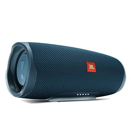 JBL CHARGE4 Bluetoothスピーカー IPX7防水/USB Type-C充電/パッシブラジエーター搭載 ブルー JBLCHARGE4BLU【国内正規品/メーカー1年保証付き】