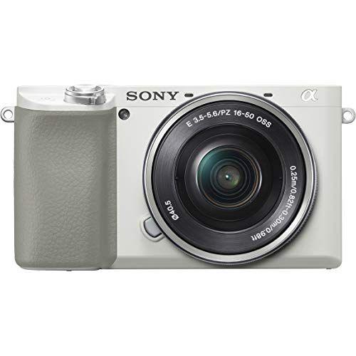 ソニー SONY ミラーレス一眼 α6100 パワーズームレンズキット E PZ 16-50mm F3.5-5.6 OSS ホワイト ILCE-6100L W