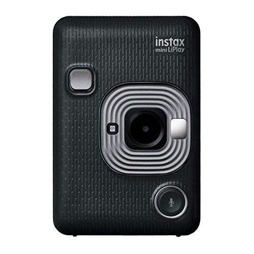 FUJIFILM チェキ インスタントカメラ/スマホプリンター instax mini LiPlay ダークグレイ INS MINI HM1 DARK GRAY[-]