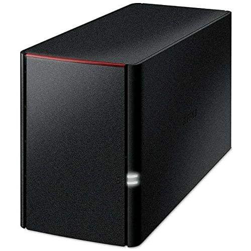 【14時までのご注文は当日発送・休業日除く】BUFFALO リンクステーション for SOHO RAID機能搭載 高信頼HDD WD Red採用 ネットワークHDD(NAS) 2TB LS220DN0202B