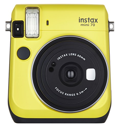 FUJIFILM インスタントカメラ チェキ instax mini 70 イエロー INS MINI 70N YELLOW[-]