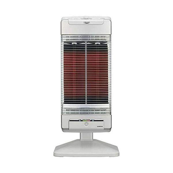 コロナ 電気ストーブ【シーズヒーター】【暖房器具】CORONA コアヒート シャンパンシルバー DH-1219R-SS