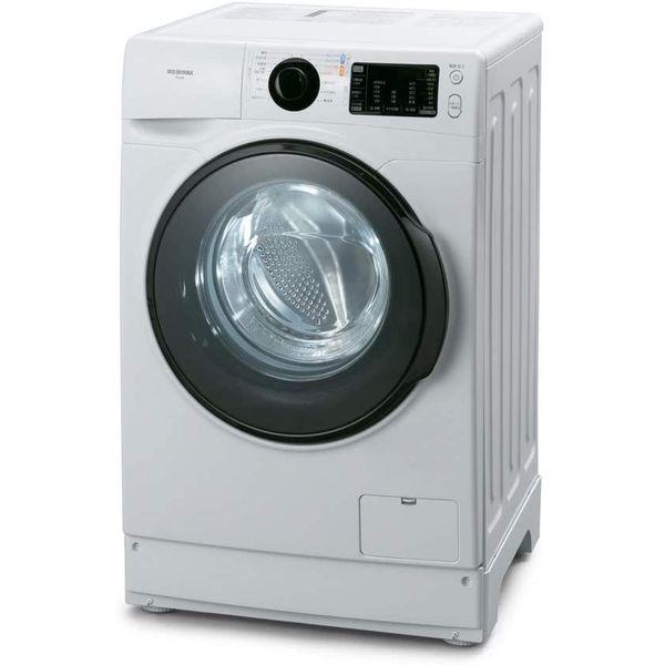 アイリスオーヤマ ドラム式洗濯機 洗濯機 8kg 訳あり商品 温水洗浄機能付き ホワイト 新生活 奥行572mm 幅607mm FL81R