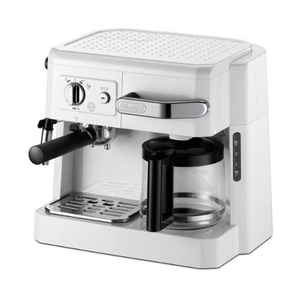 割り引き DeLonghi コンビコーヒーメーカー ホワイト BCO410J-W 超人気 専門店